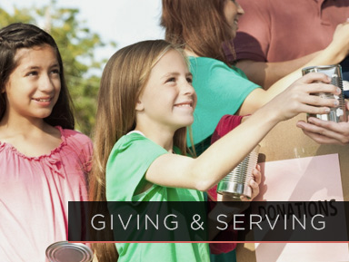 Giving and Serving